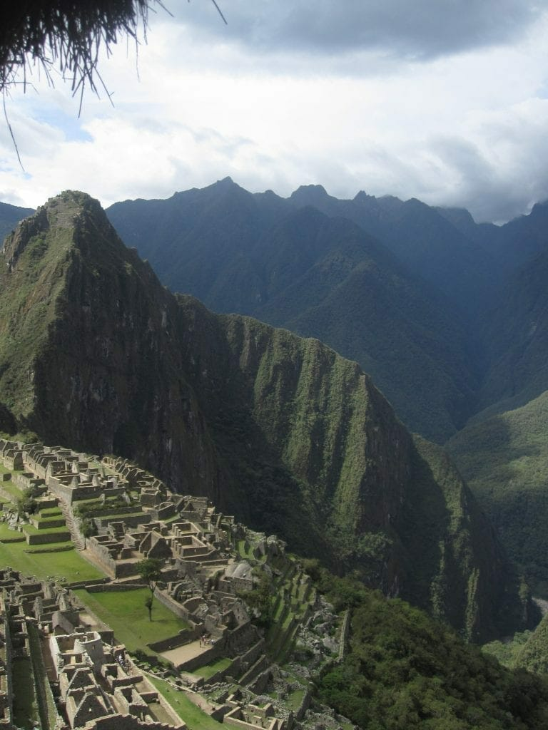Machu Picchu - The beauty is so real that this is not a professional photo.