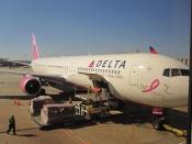 Delta-pink-plane