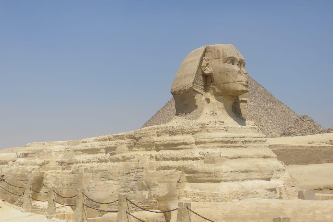 Sphinx at Giza Plateau